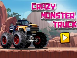 Crazy Monster Truck - Free Online Game